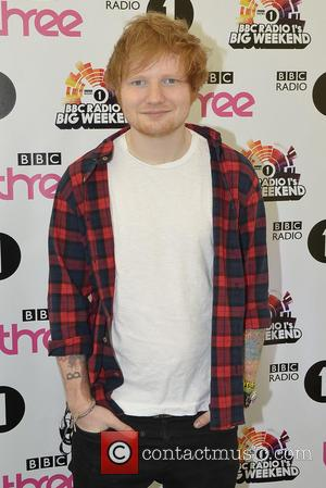 Ed Sheeran - Radio 1's Big Weekend Glasgow - Arrivals - Day 1 - Glasgow, United Kingdom - Saturday 24th...