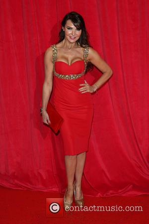 Lizzie Cundy - The British Soap Awards 2014 held at Hackney Empire - Arrivals - London, United Kingdom - Saturday...