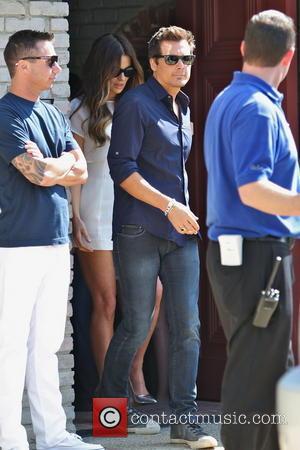 Kate Beckinsale and Len Wiseman - Kate Beckinsale and husband Len Wiseman leave Joel Silvers Malibu Beach House Party on...