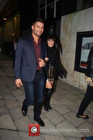 Janette Manrara and Aljaž Skorjanec - Press night for 'Flash Mob' at the Peacock Theatre - London, United Kingdom -...