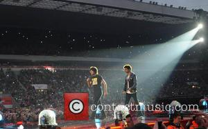 Zayn Malik and Louis Tomlinson - One Direction kick off 'Where We Are Tour' in Sunderland - Sunderland, United Kingdom...