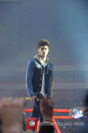 Zayn Malik - One Direction kick off 'Where We Are Tour' in Sunderland - Sunderland, United Kingdom - Wednesday 28th...