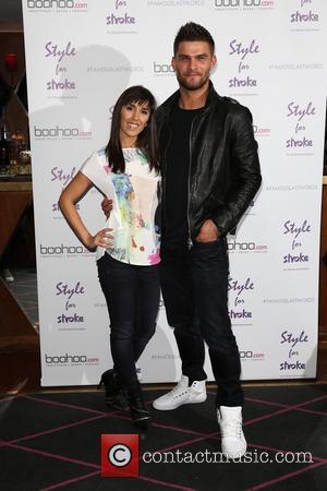 Janette Manrara and Aljaz Skorjanec - Style For Stroke: Tee Shirt - launch party held at Werewolf Nightclub - Arrivals...