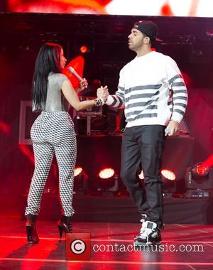Nicki Minaj and Drake - Nicki Minaj performs live during Summer Jam 2014 at the Met Life Stadium - New...