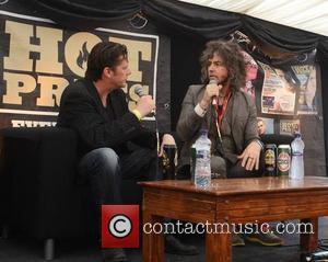 Wayne Coyne, Olaf Tyaransen, The Flaming Lips and Forbidden Fruit Festival