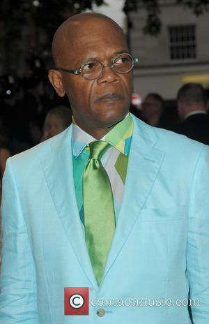 Samuel L Jackson - Celebrities arriving at the Glamour Awards