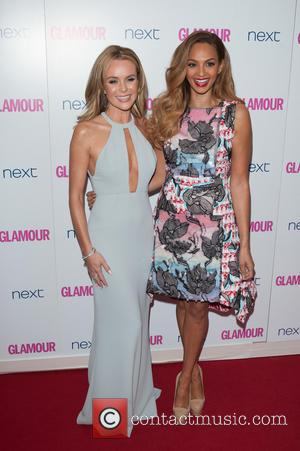 Amanda Holden and Alesha Dixon - Glamour Women of the Year 2014 Awards held at Berkeley Square Gardens - Arrivals....