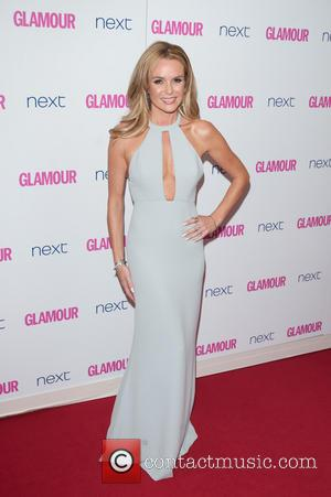 Amanda Holden - Glamour Women of the Year 2014 Awards held at Berkeley Square Gardens - Arrivals. - London, United...