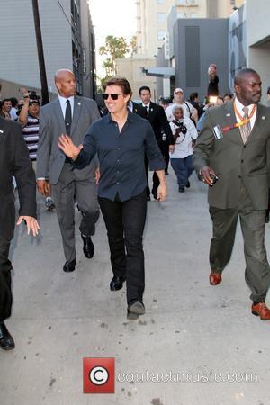 Tom Cruise - Tom Cruise arriving for the Jimmy Kimmel...