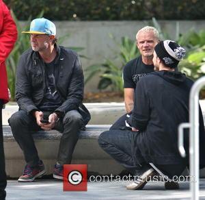 Chad Smith and Flea