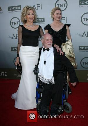 Jane Fonda, Ron Kovic and Perriann Ferren - Jane Fonda honered with American Film Institute Life Acheivement Award at gala...
