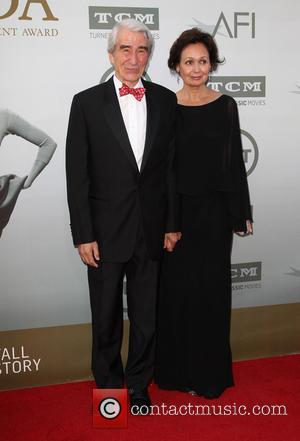 Sam Waterston and Lynn Louisa Woodruff - American Film Institute's (AFI) 42nd Annual Life Achievement Award honoring Jane Fonda at...