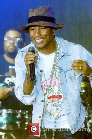 Pharrell Williams - Pharrell Williams performs live on the 'Today' show - NY, New York, United States - Thursday 5th...