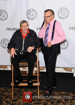 Jerry Lewis and Larry King - Friars Club celebrates Jerry Lewis and the release of the 50th anniversary Blu Ray...