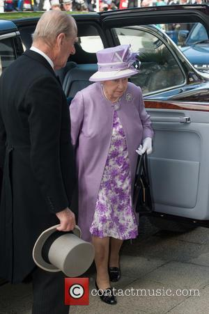 Prince Philip, The Duke of Edinburgh, The Queen and Queen Elizabeth II - The Investec Epsom Derby held at the...