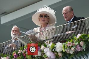 Prince Philip, The Duke of Edinburgh, Prince Michael of Kent and Princess Michael of Kent - The Investec Epsom Darby...