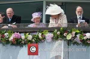 Prince Philip, The Duke of Edinburgh, The Queen and Queen Elizabeth II - The Investec Epsom Darby held at the...