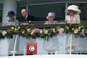 Prince Philip, The Duke of Edinburgh, The Queen, Queen Elizabeth II and Princess Michael of Kent - The Investec Epsom...