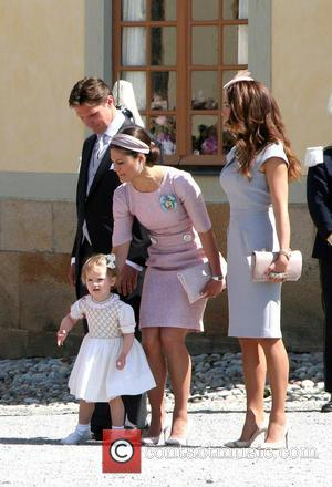 Estelle, Duchess Of Gotland, Patrick Sommerlath, Princess Victoria Of Sweden and Louise Gottlieb
