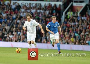 Mark Owen - Soccer Aid 2014 at Old Trafford - Manchester, United Kingdom - Sunday 8th June 2014