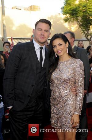 Channing Tatum and Jenna Dewan - Premiere of 22 Jump Street - Arrivals - Los Angeles, California, United States -...