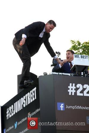 Channing Tatum and Jonah Hill - Premiere of '22 Jump Street' held at The Regency Village Theatre in Westwood -...