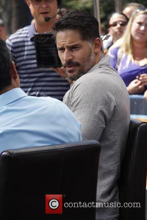 Joe Manganiello - Celebrities on entertainment show 'Extra' at Universal Citywalk - Universal City, California, United States - Wednesday 11th...