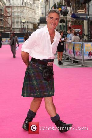 Greg Wise - Walking on Sunshine UK premiere held at the Vue cinema - Arrivals - London, United Kingdom -...