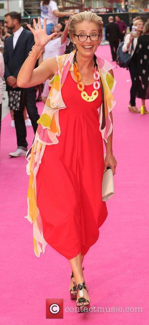 Emma Thompson - 'Walking On Sunshine' premiere at the Vue Cinemas in London - Arrivals - London, United Kingdom -...