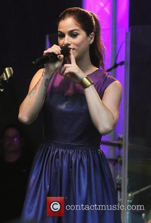 Cassadee Pope - Cassadee Pope performs live on Fox and Friends - New York City, New York, United States -...