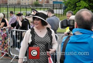 Susan Boyle - Susan Boyle attended her local Children's Gala Day in Blackburn, West Lothian. Susan is the centre of...
