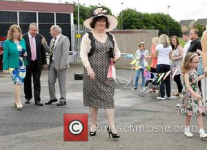 Susan Boyle - Susan Boyle attends her local Children's Gala Day in Blackburn, West Lothian. She was in the party...