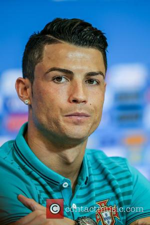 Cristiano Ronaldo - 2014 FIFA World Cup - Day 4 - Cristiano Ronaldo takes part in a press conference ahead...