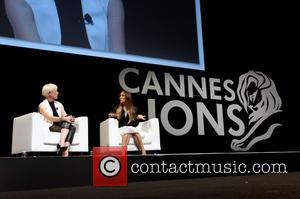 Joanna Coles & Sarah Jessica Parker - Sarah Jessica Parker takes part in an interview at the Cannes Lions International...