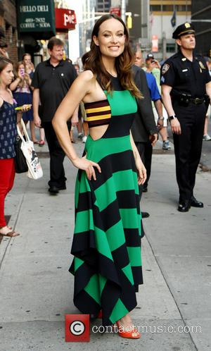 Olivia Wilde - Celebrities outside the Ed Sullivan Theater as they arrive for their taping on the 'Late Show with...