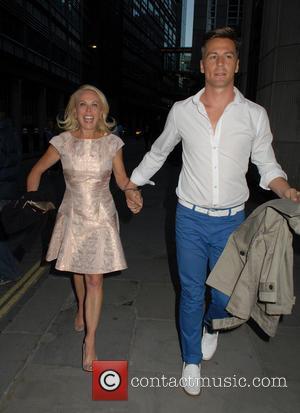 Jayne Torvill and Matt Evers - Now Magazine Summer Party at Kanaloa London - London, United Kingdom - Tuesday 17th...