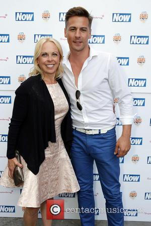 Jayne Torvill and Matt Evers - The Now & Solait VIP Beach Party at Kanaloa in London - London, United...