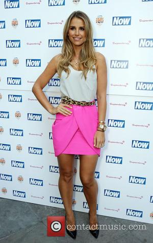 Vogue Williams - The Now & Solait VIP Beach Party at Kanaloa in London - London, United Kingdom - Tuesday...