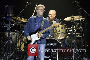 Eric Clapton - Eric Clapton performs at the SSE Hydro within the Scottish Exhibition and Conference Centre (SECC) - Glasgow,...