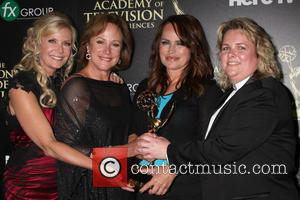 Venice The Series, Katherine Kelly Lang, Hilliary B. Smith and Crystal Chappell - The 41st Annual Daytime Emmy Awards -...