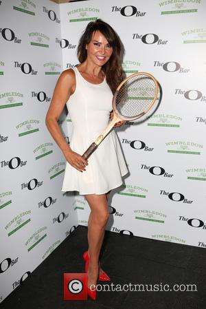Lizzie Cundy - The O Bar VIP Launch Party to celebrate their Wimbledon themed renovation - London, United Kingdom -...
