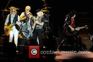 Aerosmith - Aerosmith performs at the Fiera Milano Rho