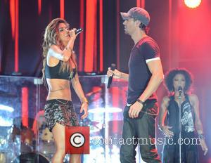 Enrique Iglesias and Nicole Scherzinger - Isle of MTV Malta - Performances - Valletta, Malta - Wednesday 25th June 2014
