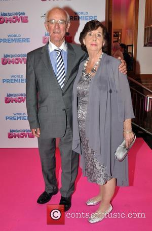 Frank Kelly and Bairbra Kelly - The world premiere of 'Mrs. Brown's Boys D'Movie' at The Savoy - Arrivals -...