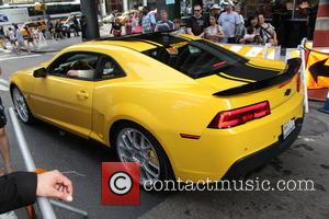 Bumble Bee - New York premiere of 'Transformers: Age Of Extinction' at the Ziegfeld Theatre - New York City, New...