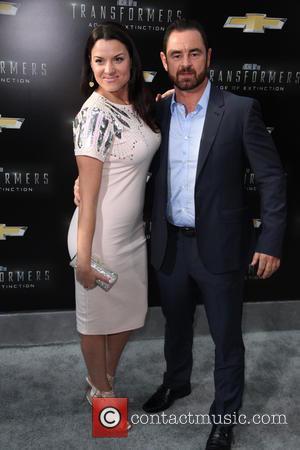 Caroline Morahan and Glenn Keogh - New York premiere of 'Transformers: Age Of Extinction' at the Ziegfeld Theatre - New...