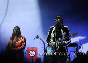 Arcade Fire, Win Butler and Richard Reed Parry - Glastonbury Festival 2014 - Performances - Day 2 - Arcade Fire...
