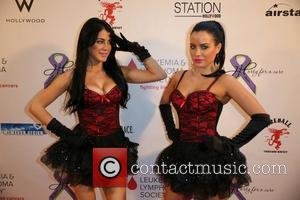 Melissa Howe and Carla Howe - Hodgkins Haters 3rd Annual 'Party For a Cure' masquerade casino night at Station Hollywood...