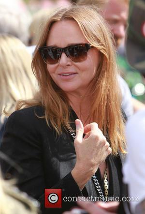 Stella McCartney - Glastonbury Festival 2014 - Celebrity sightings and atmosphere - Day 3 - Glastonbury, United Kingdom - Friday...