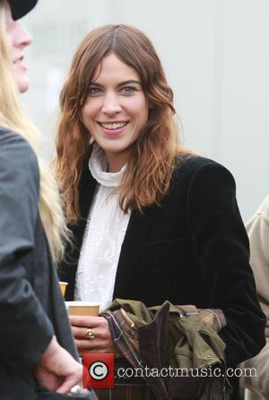 Alexa Chung - Glastonbury Festival 2014 - Celebrities - Glastonbury, United Kingdom - Friday 27th June 2014